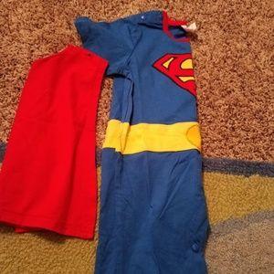 Other - Superman short pant onesie